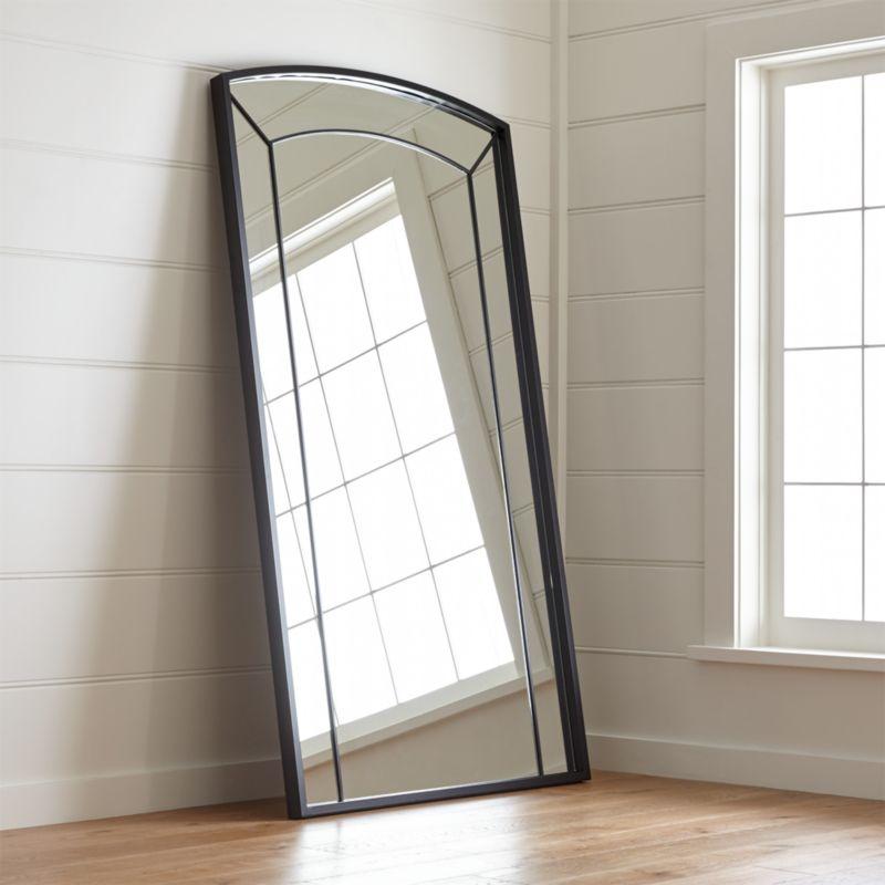 Capra Floor Mirror Reviews Crate And Barrel