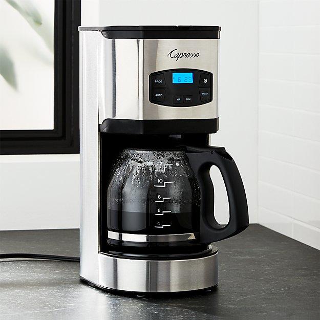 Capresso 12 Cup Drip Coffee Maker Crate And Barrel