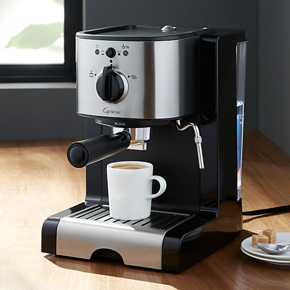 Capresso ® EC100 Pump Espresso and Cappuccino Machine