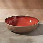 Caprice Chili Red Melamine 8  Bowl