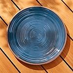 Caprice Dark Blue Melamine Platter