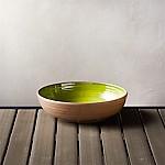 Caprice Green 8  Melamine Bowl