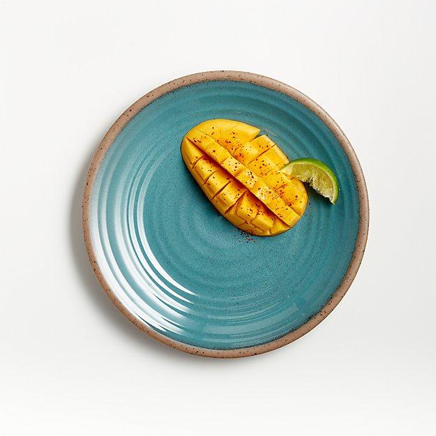 Caprice Lagoon Melamine Salad Plate - Image 1 of 4