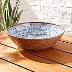 Caprice Medallion Melamine Serving Bowl