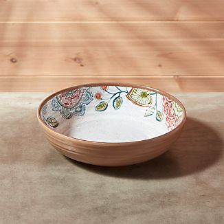 "Caprice 8"" Botanical Melamine Bowl"