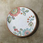 """Caprice 10.5"""" Botanical Melamine Dinner Plate"""