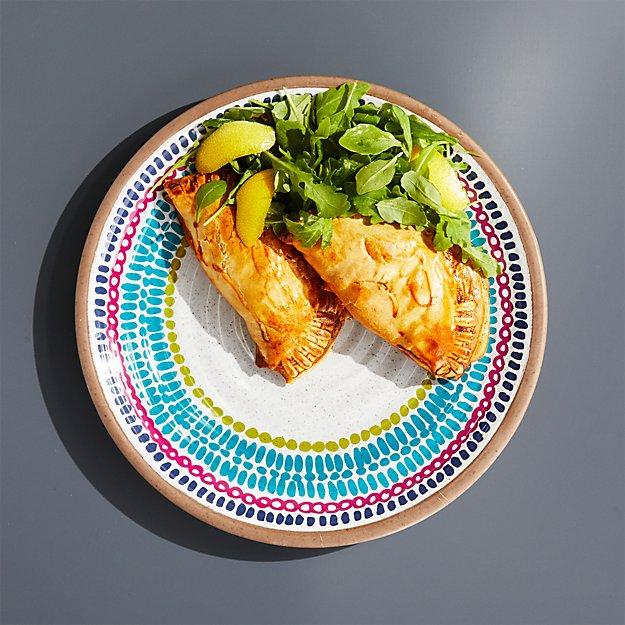 Caprice Mod Medallion Melamine Dinner Plate - Image 1 of 4