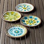 Caprice 8.5  Melamine Plates Set of Four