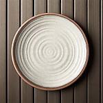 Caprice Stone 10.5  Melamine Plate