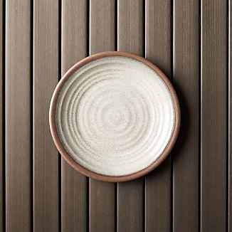 "Caprice Stone 8.5"" Melamine Plate"