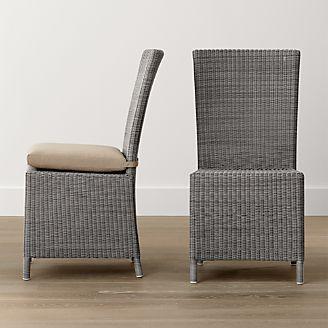 Captiva Grey Dining Chair And Cushion