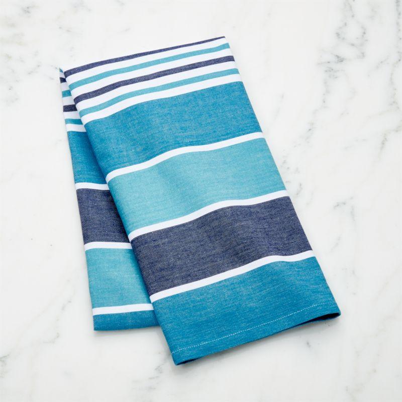Caravan Aqua Dish Towel