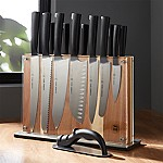 Schmidt Brothers ® Carbon 6 15-Piece Knife Block Set
