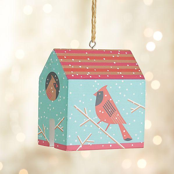 Cardinal House Ornament