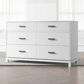 white and wood dresser White Wood Dressers | Crate and Barrel white and wood dresser