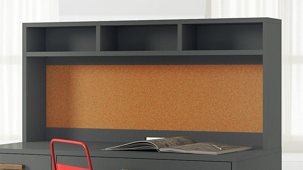 Metal Desk With Hutch L80