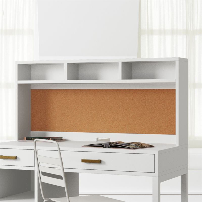 kids parke white desk hutch reviews crate and barrel rh crateandbarrel com white desk with hutch for sale white desk hutch target