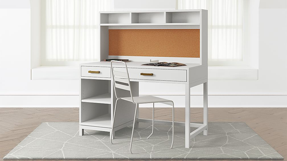 Kids White Desk With Drawers Laptop Desk For Lap