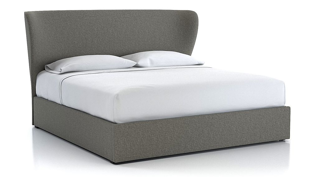 Carlie King Upholstered Headboard with Gas-Lift Storage Base - Image 1 of 5
