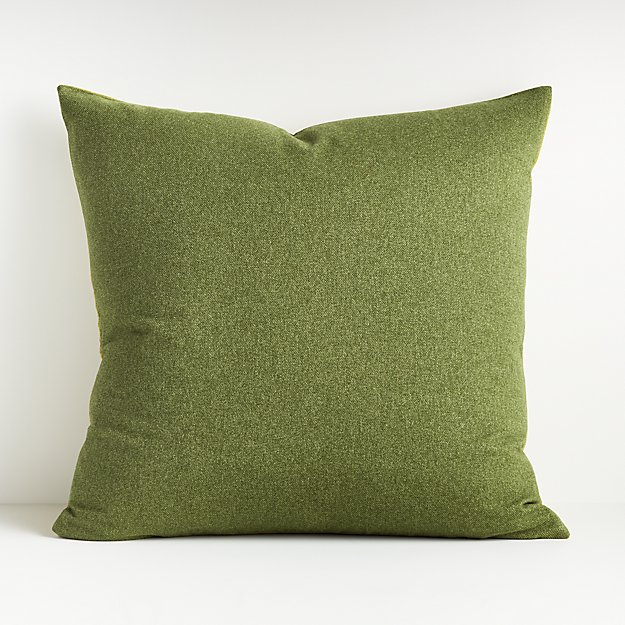 "Carlo Green Reversible Throw Pillow 23"" - Image 1 of 7"