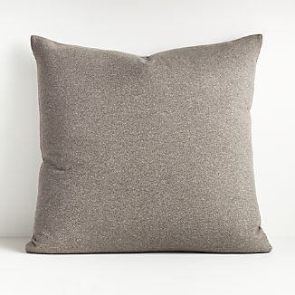 "Carlo Grey Reversible Throw Pillow 23"""