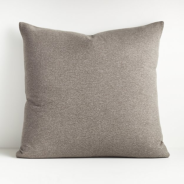 "Carlo Grey Reversible Throw Pillow 23"" - Image 1 of 5"