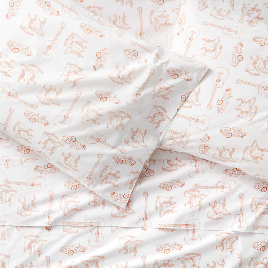 Carly Clay Organic Sheet Set