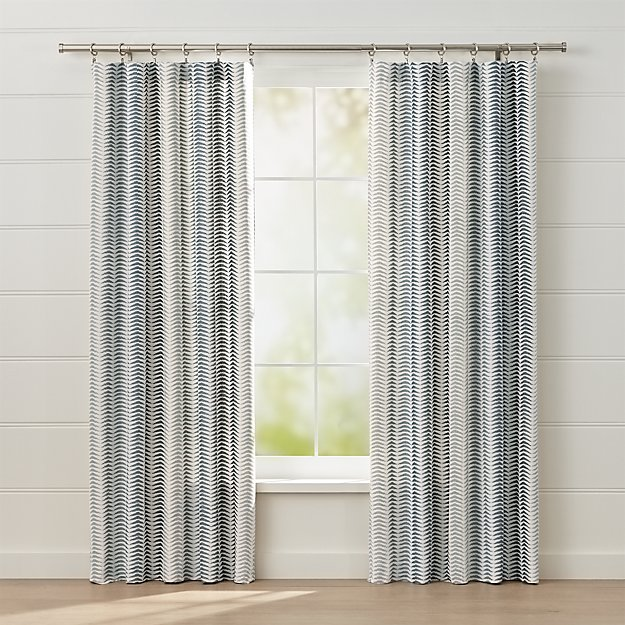 Carmelo Patterned Curtains - Image 1 of 5