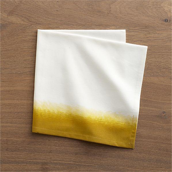 Carmen Yellow Napkin