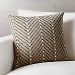 Carmine 18  Pillow with Feather-Down Insert