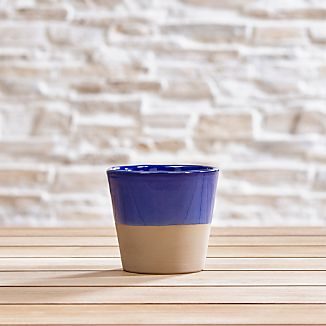 Carnivale Cobalt Mini Planter