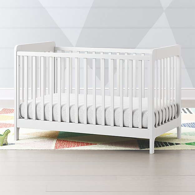 Carousel White Crib Reviews Crate And Barrel