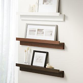 Carren Ledge Shelves with Lip