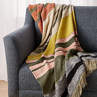 Carreno Multicolored Throw
