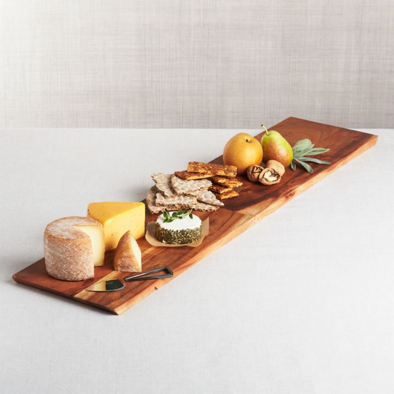 Carson Cheese Board 36 Quot Reviews Crate And Barrel