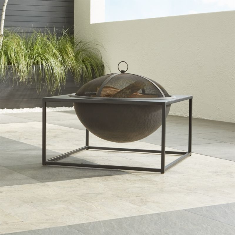 Carswell Large Firepit Crate And Barrel