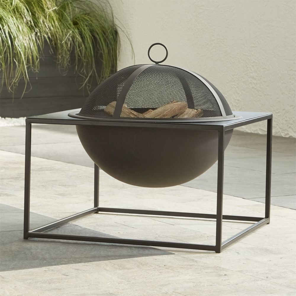 Carswell Small Firepit - Crate and Barrel