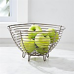 Carter Grey Wire Fruit Basket