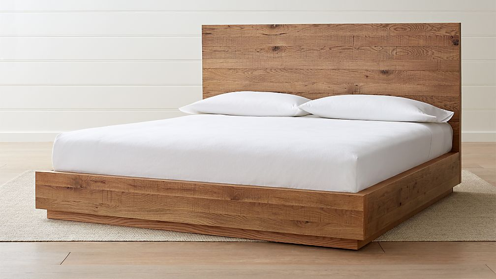 Cas King Oak Bed - Image 1 of 9