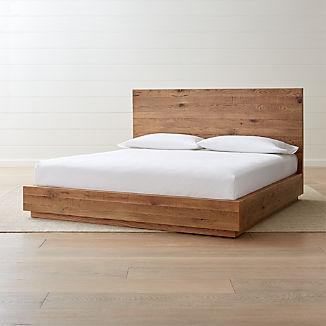 6daa00b2b5a1b0 Platform Beds | Crate and Barrel