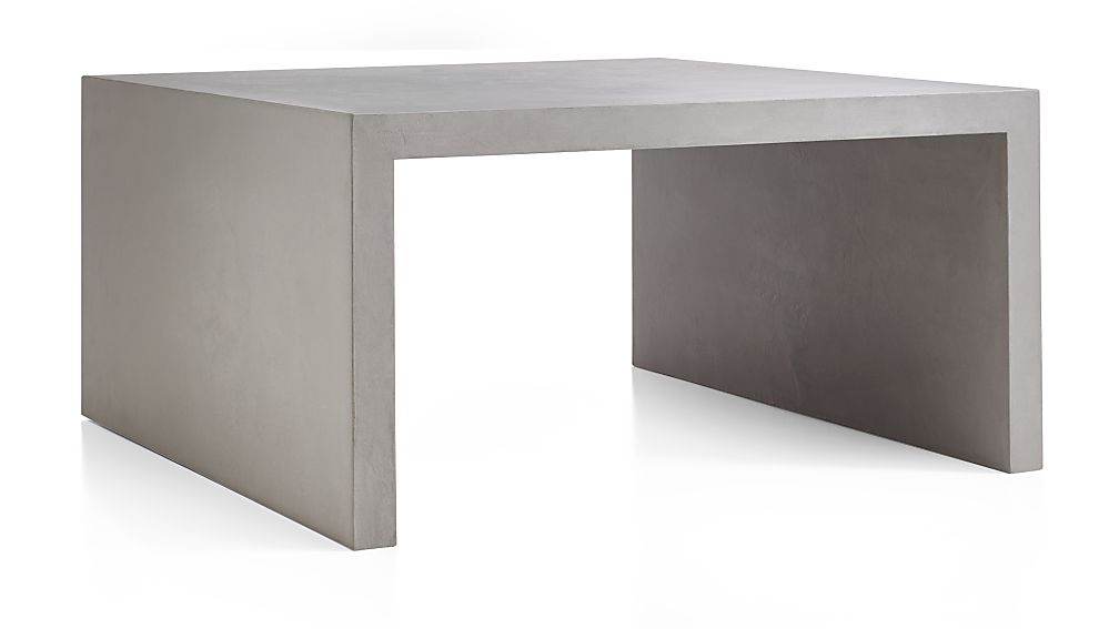 Cascade Square Coffee Table Reviews Crate And Barrel