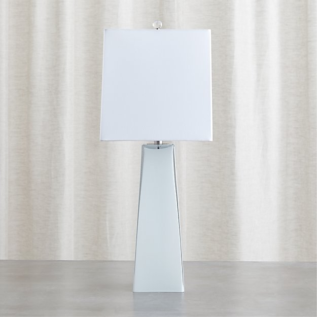 Margerie Cased Glass Table Lamp Crate and Barrel