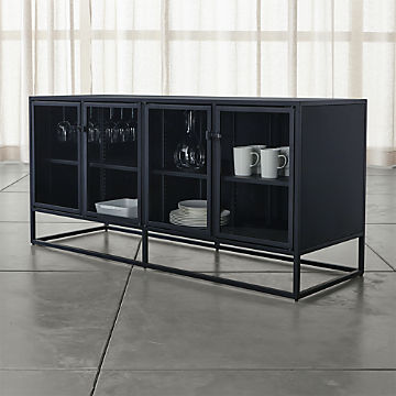 Sideboards and Buffet Tables | Crate and Barrel on consoles and credenzas, made in usa modern credenzas, modern sideboards with sliding door, country style credenzas, industrial modern credenzas, post modern credenzas, modern sideboards and hutches,