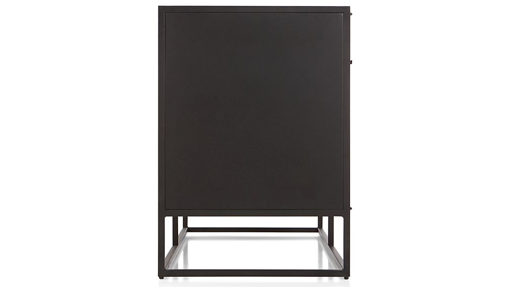 Casement Black Large Sideboard