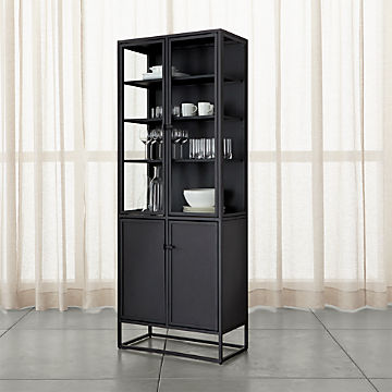 Superb Storage Cabinets And Display Cabinets Crate And Barrel Interior Design Ideas Greaswefileorg