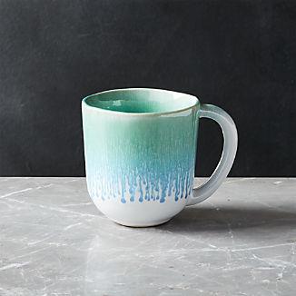 Caspian Aqua Reactive Glaze Mug