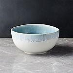 Caspian Blue Reactive Glaze Cereal Bowl