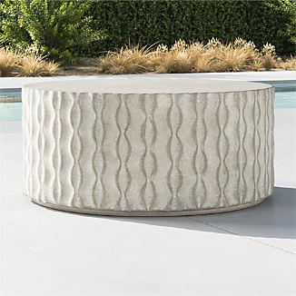 Cast Concrete Coffee Table