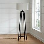 Castillo Black Floor Lamp
