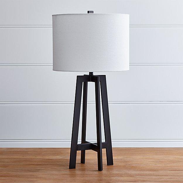 Castillo Black Table Lamp
